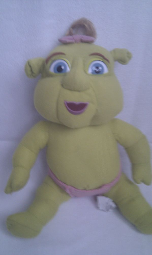 Adorable Big Shrek Baby Plush Dreamworks Shrek Toy